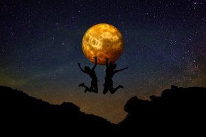 Kraftvoll durch die Rauhnächte ins Venusjahr - Mond